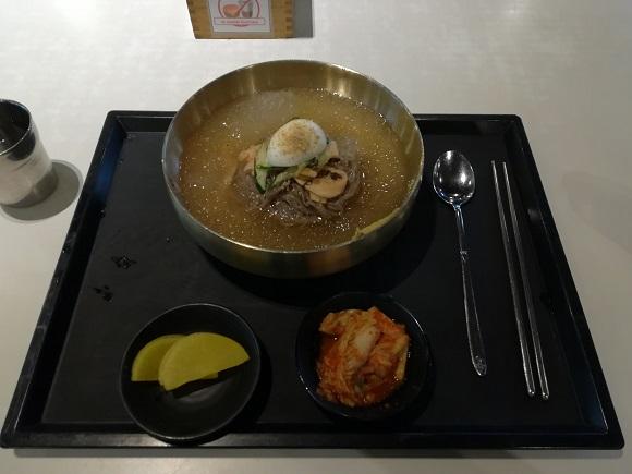 金海空港の冷麺